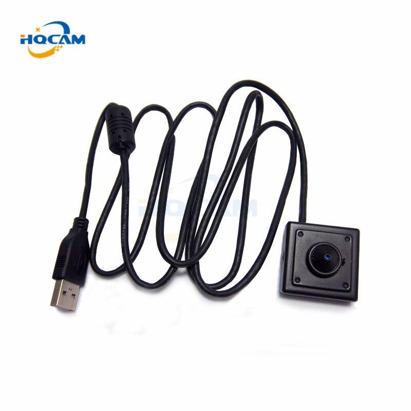 HQCAM 1080P UVC black and white monochrome video for atm kiosk automatic vending machines mini USB Camera USB mini ATM camera <br>