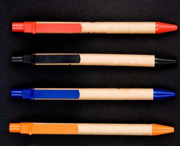 50pcs-lot-Eco-paper-pen-platic-clip-green-concept-environmental-friendly-ballpoint-pen-wholesale-customized-promotion (3)