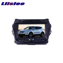 For Hyundai Santa Fe ix45  ix 45 Maxcruz LiisLee Car Multimedia TV DVD GPS Audio Hi-Fi Radio Original Style Navigation Advanced