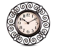 10 Inch Guabiao Hollow Imitation Iron Art Wall Clock Super Retro European Style Living Room Bedroom Garden Watch Clock