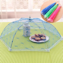 Meal Cover Large Circular Lace Lattice Folding Dinner Table Cover Fruit Fly Proof Mosquito Food Prevent Dust Insect For Kitchwea