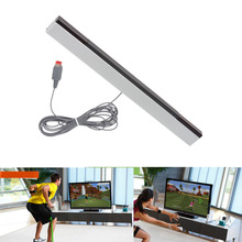 Wired Infrared IR Signal Ray Sensor Bar Receiver Game Remote Motion Sensor Inductor Replacement for Nintendo Wii or Wii U