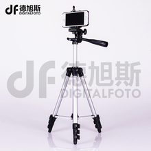 4 sections compact smartphone tripod mini dslr Tripod digital Camera tripod for mobile iPhone Xiaomi Samsung Canon Nikon Sony