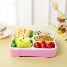 Bento Box 5 Slots Practical Leak-Proof Lunch Boxs Portable Lunchbox Good Quality Picnic Box 5 Compartments Food Container(China)