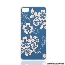 navy blue and coral floral pattern fabric cell phone Cover Case   for Samsung galaxy S3/4/5/6/7 Iopd Touch 4 5 6