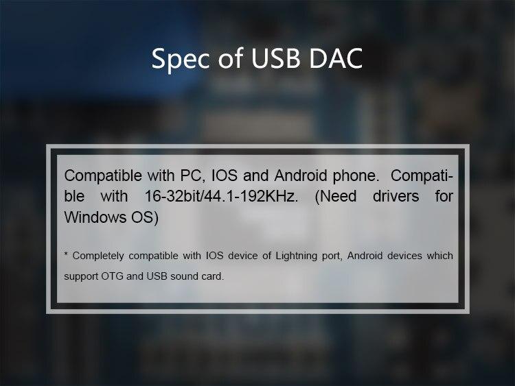 Topping NX2s Ultra slim HIFI DAC Headphone amplifier LMH6643+OPA1652 9mm Ultra slim