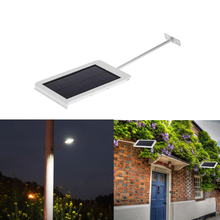 Solar Powered 15 LED Street Light Solar Lamp Sensor Light Outdoor Lighting Garden Path Spot Light Wall Emergency Lamp(China)