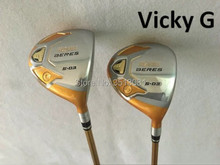 VickyG Golf Clubs 4 Star Honma S-03 Fairaway Woods Brand New Golf Woods #3/#5 Graphite Shaft With Head Cover EMS Free Shipping(China)