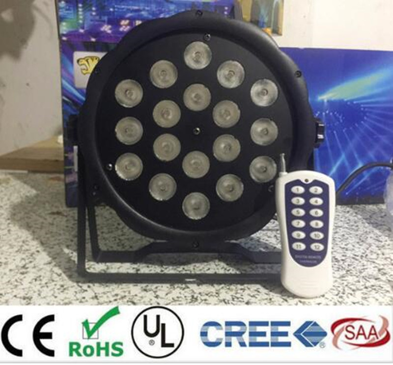 8pcs 50m Wireless control 18x8W RGBW American DJ Mega Quad Par Profile Bright Stage LED Wash Light RGBW Color Mixing<br>