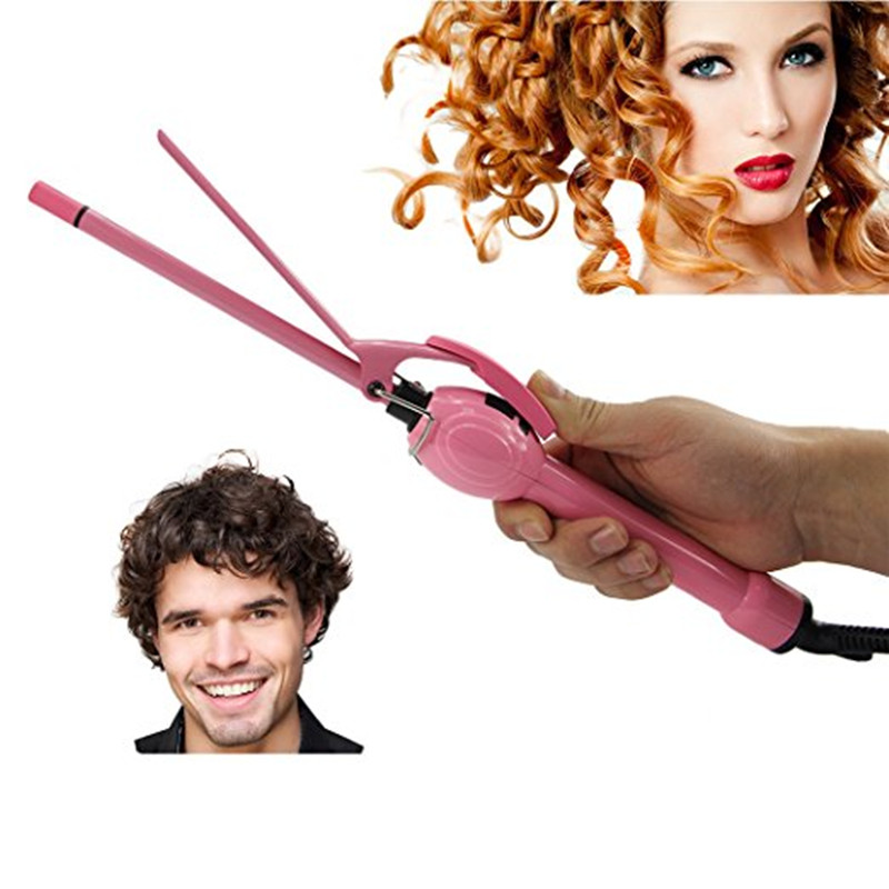 Professional Magic Pro Hair Curler Electric Curl Ceramic Spiral Hair Curling Iron Wand Salon Hair Styling Tong Tools Styler<br>