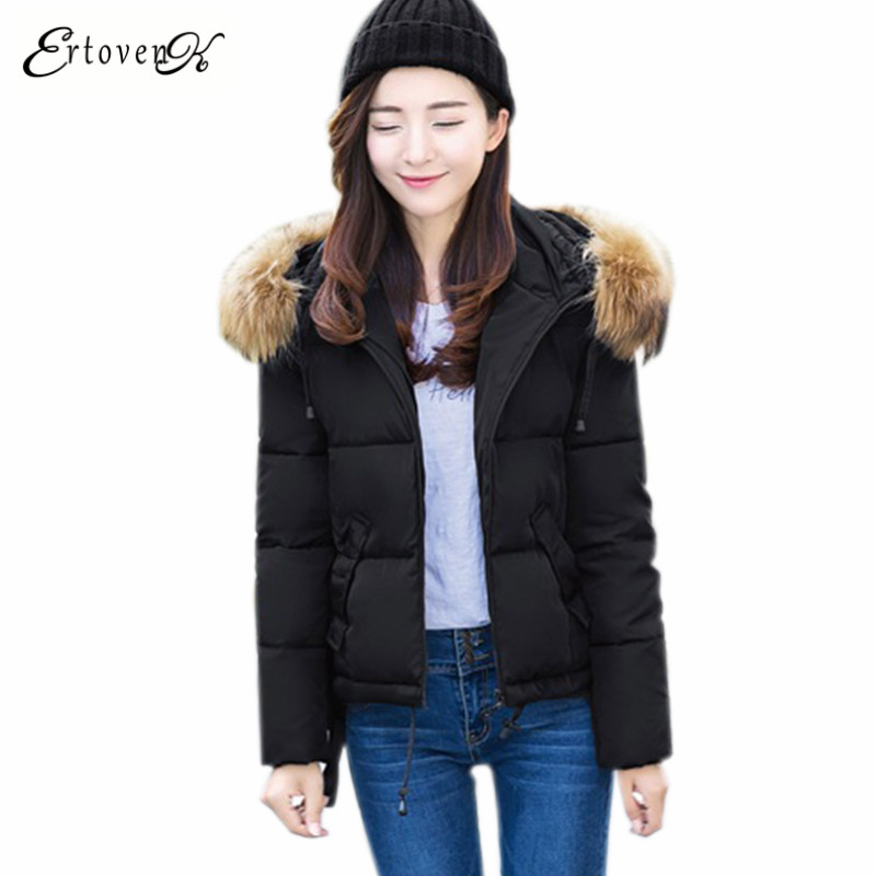 Winter Coat 2017New Women Jacket Jaqueta Feminina inverno Large-size Long-sleeved Outerwear abrigos mujer casual ClothingONE949Îäåæäà è àêñåññóàðû<br><br>