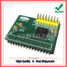 Free Shipping 1pcs AD7606 Data Acquisition Module 16-Bit ADC 8-Channel Synchronous Sampling Frequency 200KHz board (C2B4)