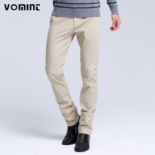 2017 New Arrive Men's Casual Washed Pants Business Casual Slim Regular Mid-Waist Trousers Pants Men Youth Hot Sale Free S6AP002(China)