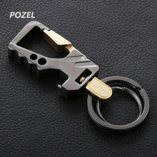 Cool Creative Design Brand Stainless Steel Car Keychain Key Ring for DODGE JCUV Journey RAM GMC Infiniti Q50L QX50 QX60