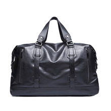 15.6 inches leather high quality men travel bag vintage handbags men messenger duffel bags shoulder crossbody bags