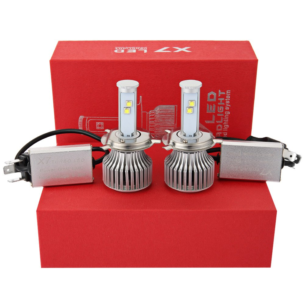 Car Light Source Car External Lights Car LED Cold White Headlight Bulbs All-in-one Conversion Kit Give You A Safe Bright Driving<br><br>Aliexpress