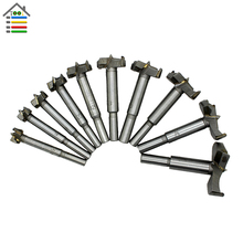 New 10pc Forstner Bit Set Wood Milling Cutter Window 14-50mm Woodworking Hinge Hole Saw Cutting Auger Core Drilling(China)