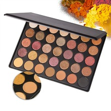 35 Color Shimmer Matte Eye shadow Palette Professional Makeup Eyeshadow Pallete Beauty Make up Set(China)