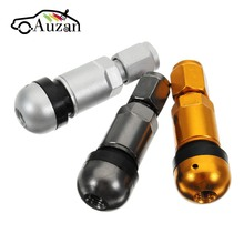 4pcs/set Universal Car Motorcycle Tubeless Wheel Tyre Valve Stems Caps Tire Air Valve Stem Aluminum Metal(China)