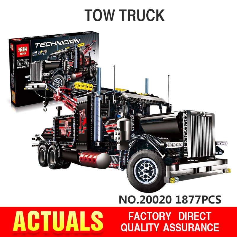 Lepin 20020 Technic Mechanical Ultimate Series The American Style Heavy Container Trucks Set 8285 Building Blcoks Bricks Toys<br><br>Aliexpress