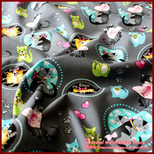 Special offer! 1Pieces/lot 148*50cm cat series 100 cotton printed fabrictildasewing fabricpatchwork cotton fabric