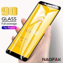 9D Full Cover Tempered Glass Xiaomi Redmi 5Plus 4X Redmi 6 Pro 6A Screen Protector Redmi Note 5 Pro 5A Glass Film