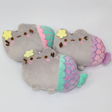 New 20cm Pusheen cat Plush Toys Cartoon Gund Pusheen Cat Cosplay Mermaid Plush Soft Stuffed Animals Toys Gifts for Kids Children(China)