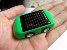 Plastic DIY Solar car kit for kids,Solar DIY Educational Kit Toy cars(China)