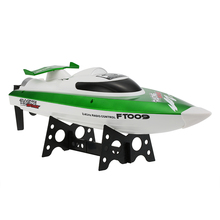 Hot Sale RC Boat FT009 2.4G 4CH Water Cooling System Self-righting 30km/h High Speed Racing RC Boat(China)