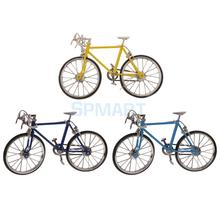 1:10 Scale Alloy Diecast Racing Bike Model Replica Bicycle Toy Collections Kids Gift(China)