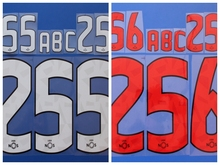 New Primeira Liga benfica football number name font print, Hot stamping Soccer patches badges(China)