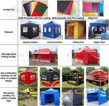 10ft, 15ft, 20ft Outdoor Advertising Promotion Event Exhibition Display POP up Out Tent Canopy
