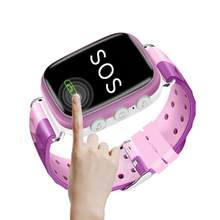 Waterproof Smart Watch GPS Touch Phone Call Location Tracker Bracelet for Kids children watch(China)