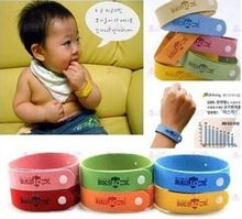 50pcs/lot NEW ANTI MOSQUITO BUG REPELLENT WRIST BAND BRACELET, ADJUSTABLE SIZE  Non Toxic Deet Free