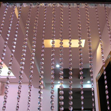 500g Crystal Beads Scattered Bead Curtain Curtain Diy Entrance Curtain Line Curtain Lighting Accessorie Octagonal Beads
