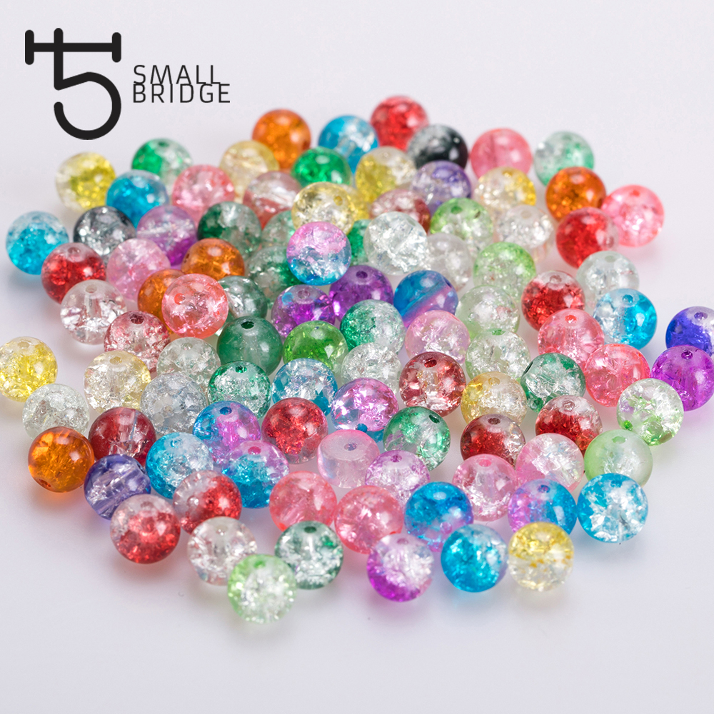 "Wholesale Lots Mixed AB Color Faceted Round Acrylic Spacer Beads 8mm 3//8/"" Dia"