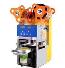 Fully automatic cup sealing machine intelligent pearl milk tea sealer Soya-bean milk juice for sealing equipment