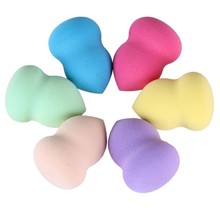 DHL or EMS 200pcs Foundation Makeup Sponge Blender Blending Cosmetic Puff Powder Smooth Beauty Make Up Tool(China)