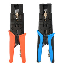 Adjustable Coax Compression Crimping Tool Cable Wire Cutter Stripper Multitools Pliers Crimper for RG58 RG59 RG6 F BNC RCA