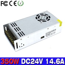 Best quality 24V 14.6A 350W Power Supply Switching Led Driver Transformers 110v 220v AC to dc24v For CNC Machine DIY LED CCTV(China)