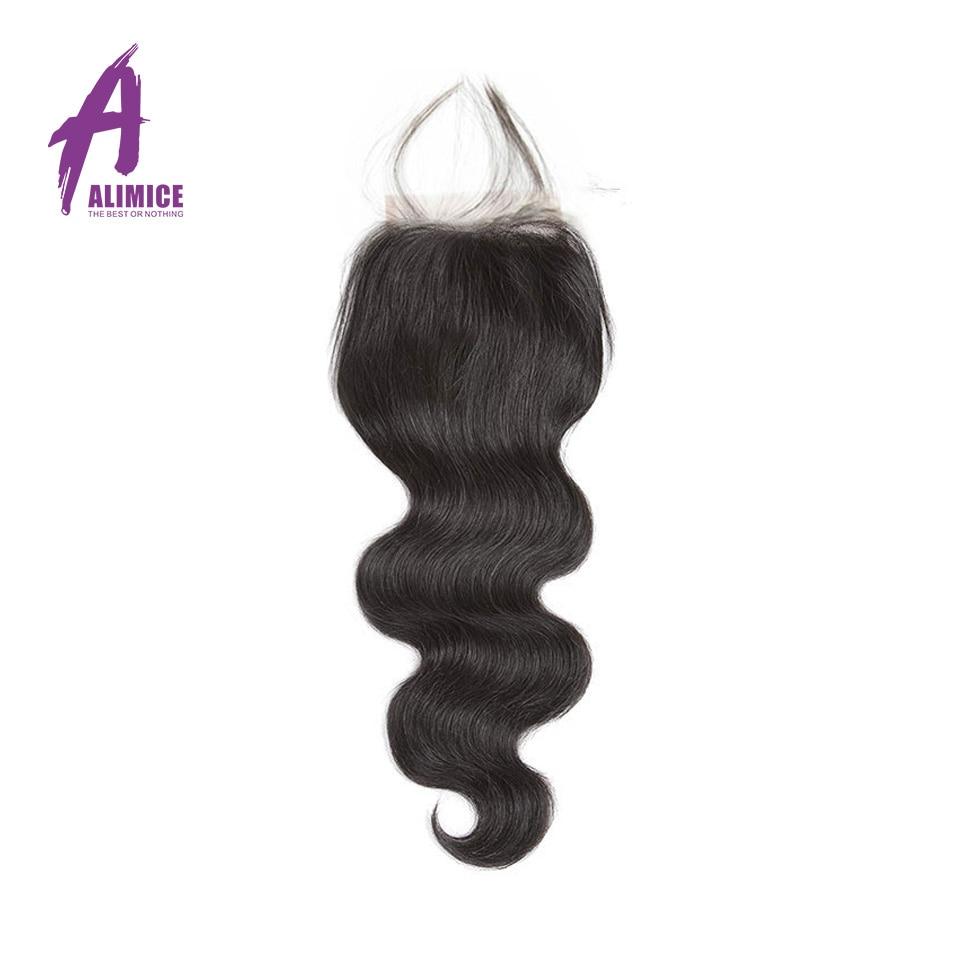 Brazilian Body Wave Hair 3Bundles Human Hair Weave Bundles Hair Weft With Closures With Bundles Alimice Non Remy Hair Extensions (20)