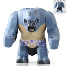 Buy DR TONG Single Sale WM223 Cave Troll Lord Rings Mines Moria Action Figures Building Blocks Bricks Toys Children Gifts for $2.88 in AliExpress store
