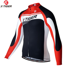 Buy X-TIGER Thermal Fleece Cycling Jersey Winter Bike Wear Maillot Ropa Ciclismo Invierno Hombre MTB Bicycle Cycling Clothing for $23.59 in AliExpress store
