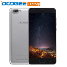 Doogee X20 Mobile Phone 5+5MP Dual Rear Camera 5.0 Inch 2G RAM 16GB ROM Smartphone 2580mAh WCDMA 3G Android 7.0 Unlock Cellphone(China)