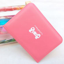 Hot Sale 12 Bit Fashion Women Men Credit Card Holder PU Leather Buckle Unisex ID Holders Package Organizer Manager Free Shipping(China)