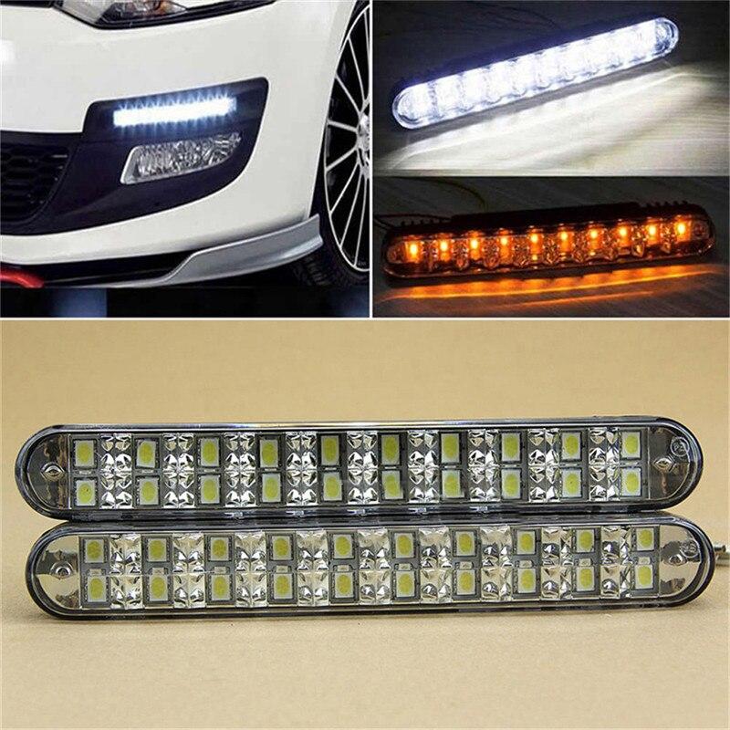 high-quality-2PCS-Practical-12V-30LED-Onfine-Leo-2x-30-LED-Car-Daytime-Running-Light-DRL
