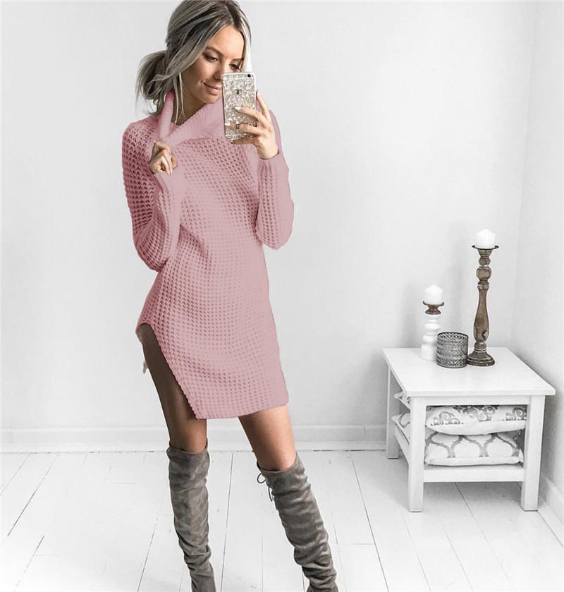 Стильное Платье Свитер
