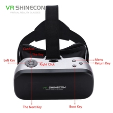 "VR Shinecon All In One Vr 3D Box Virtual Reality VR Glasses Cardboard Glasses 2GB/16GB 5.5"" Ips Screen For Smartphone VR"