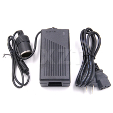 Free Air Mail 12V 5A Car cigarette lighter Power AC Converter/adapter for Air pump /Vacuum cleaner DC 12V 5A Power supply(China)