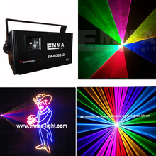 2w dmx 512 landmark laser light / oem laser / outdoor christmas lights / colors light(China)